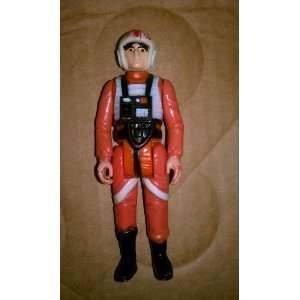 Vintage Star Wars Luke Skywalker X wing Pilot Action Figure (Loose No
