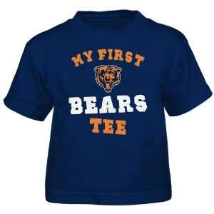 Academy Sports Reebok Toddlers Chicago Bears My First Tee