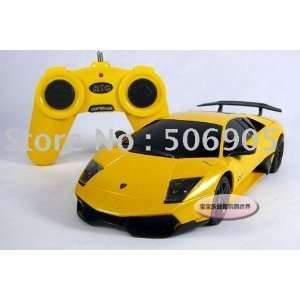 fund racing car remote control model car yellow remote Toys & Games