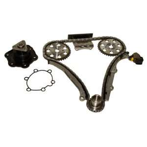TK801WP Saturn VIN 7 DOHC Timing Chain Kit w/ Water Pump Automotive