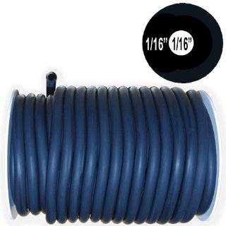 50 Feet Black Rubber Latex Tubing 5/16OD 3/16ID (#604R