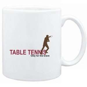 Mug White  Table Tennis   Only for the brace  Sports