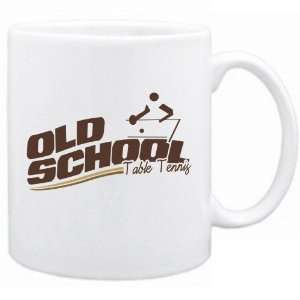 New  Old School Table Tennis  Mug Sports