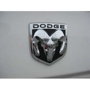 09 10 DODGE RAM HEAD EMBLEM BADGE DECAL LARGE TAILGATE Automotive
