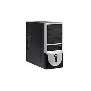 Mid Tower 350W Front USB Audio Ports Black Computers & Accessories