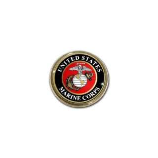 United States US Marine Corps USMC EGA Seal Gold Plated