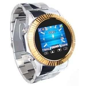 Metal Watch Cell Phone Mobile Unlocked CameraAT&T Q666B