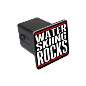 Water Skiing Rocks   2 Tow Trailer Hitch Cover Plug Insert