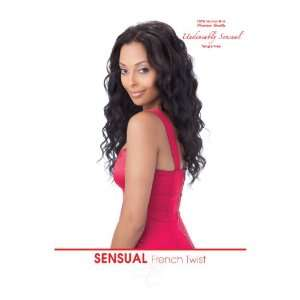 French Twist 100% Human Hair Weave Extensions By Sensual