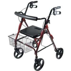 Drive D Lite Aluminum Rollator with 8 Wheels Health