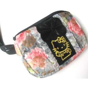 hello kitty Cellphone Wristlet /purse/pouch flower for