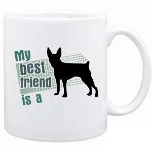 New  My Best Friend Is A Toy Fox Terrier  Mug Dog