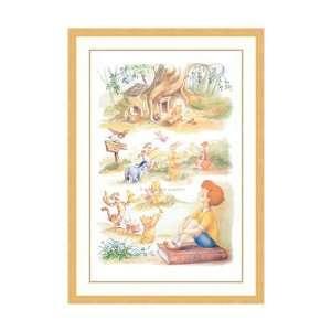 : Disney Framed Art Hundred Acre Dreams Children Kids: Home & Kitchen