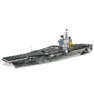 Mega Bloks Pro Builder USS Nimitz Aircraft Carrier  Toys & Games