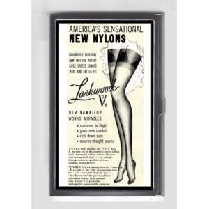 SEXY LEGS NYLONS PIN UP STOCKINGS GARTER GIRL Credit/Business Card