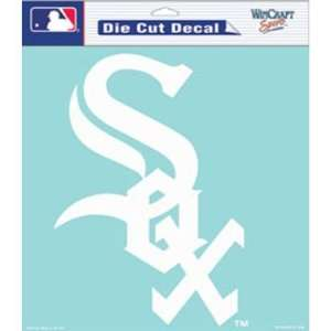 Chicago White Sox Die Cut Decal   White