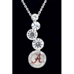 University of Alabama Crimson Tide Journey Pendant Charm Medal with 18