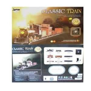 Continental Express 0n30 Scale Steam Freight Train Set With