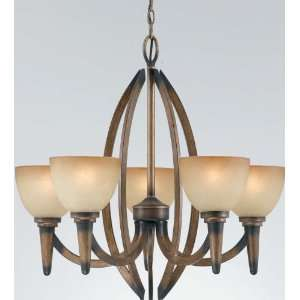 The Olympian Collection Bronze Finish Chandelier By Triarch