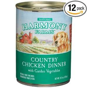 HARMONY FARMS Country Chicken Dinner with Garden Vegetables Food for