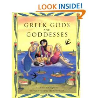 Greek Gods And Goddesses (9780689820847) Geraldine