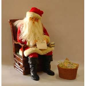 Collectible Letters To Santa Fabriche Masterworks 12.5 Santa
