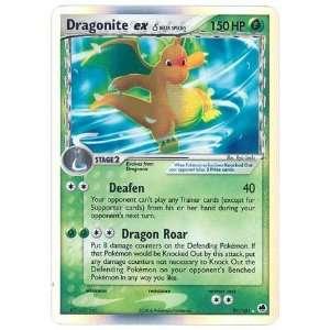 Pokemon EX Dragon Frontiers #91 Dragonite ex [Toy]  Toys & Games