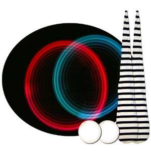 Pair of Jailhouse Multi Color LED Glow Sock Poi Toys & Games