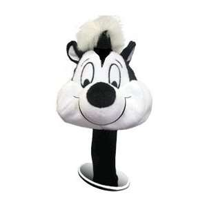 Pepe Le Pew 460cc Golf Head Cover Headcover Offically Licensed Looney