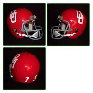Sooners 1967 76 75 National Champ Authentic Vintage Full Size Helmet