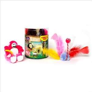 Noodle Roonie Canister   Safari Craft Kit: Toys & Games