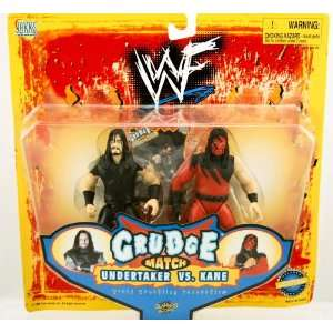 WWF Grudge Match Figures   Undertaker vs Kane : Toys & Games :