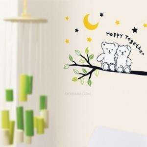 Instant Wall Decorations Stickers  Happy Together