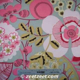 Alexander Henry LORENZA FLORAL Sage Quilt Fabric /Yd.