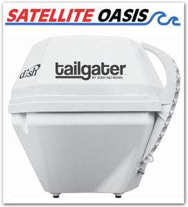 Dish Network Tailgater Portable RV satellite TV vuqube