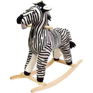 Walmar Happy rails Plush Rocking Animal, Zebra Bikes & Riding