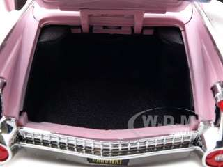 Coupe Deville Diecast Car Model 1/24 Pink Die Cast Car by Jada