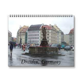 Dresden Germany 2011 Calendar, Makes a Great German Gift From ope