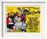 Date with Judy, Elizabeth Taylor, Robert Stack, Jane Powell, Wallace
