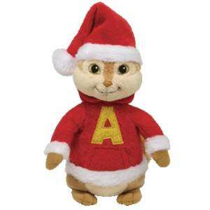 Ty Beanie Alvin and the Chipmunks, Christmas Alvin
