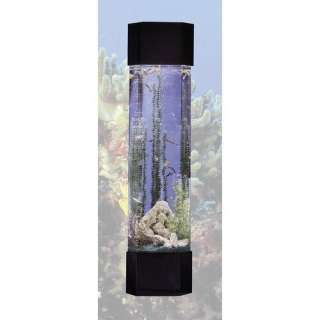 Midwest Tropical Fountain AquaTower 30 Gallon Pentagon Aquarium Fish