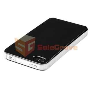 Premium 19 Accessory Leather Bumper Case Bundle Pack For iPhone 4 4S