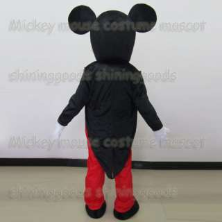 MICKEY MOUSE COSTUME MASCOT ADULT CARTOON COSTUME FANCY DRESS PARTY