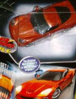 Air Hogs R/C Zero Gravity Micro Corvette Car RC Orange