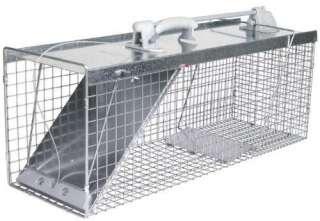 New Havahart Easy Set Live Animal Cage Trap   32x10x12
