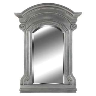 Kenroy Home Avignon Wall Mirror in Antique Pewter Decor