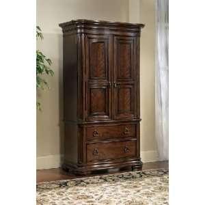 Pulaski furniture ashton park armoire deck pulaski furniture master bedroom armoires for Master bedroom set with armoire