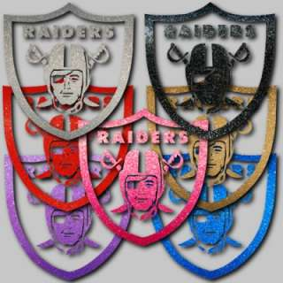 Oakland Raiders Shield 10 Auto Window Stickers Decals