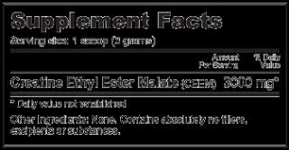 CREATINE ETHYL ESTER MALATE   1000 grams BODY BUILDING 649908233419
