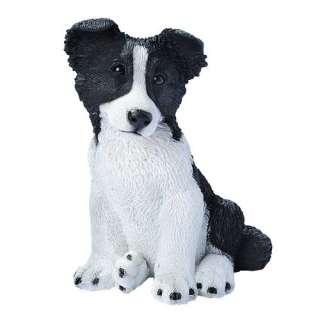 Design Toscano Border Collie Puppy Dog Statue Decor